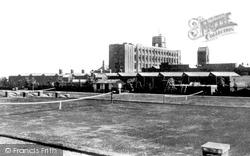 Flint, Courtauld's Mill c.1950