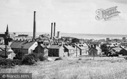 Flint, Courtaulds' Factory Chimneys c.1965
