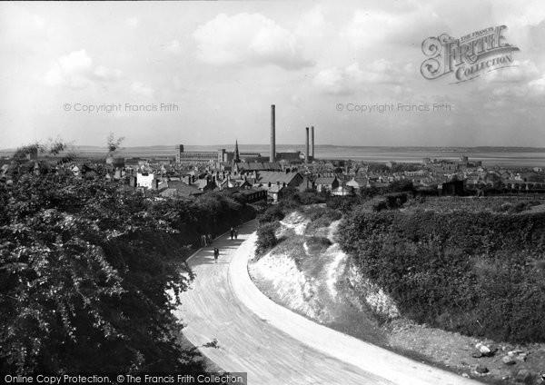 Flint, Town c1950