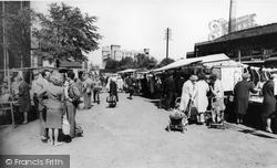 Flint, Market c.1965