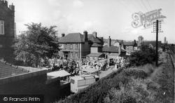 Flint, Market Place c.1965