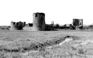 Flint, the Castle c1955