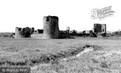 Flint, The Castle c.1965