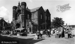 Flint, Town Hall And Market c.1965