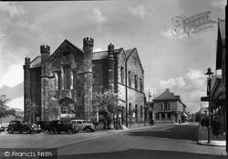 Flint, Town Hall c.1950