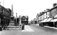 Flint, Trelawney Square c1950