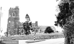 Flitton, St John The Baptist's Church c.1955