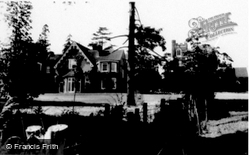 Manor And Church c.1960, Flitwick