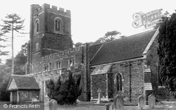 Flitwick, Ss Peter And Paul Church c.1955