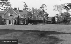 Flitwick, The Manor And Church c.1960