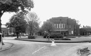 Flixton, Moorside Road, the Circle 1965