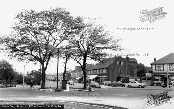 Flixton, Woodsend Road c.1965