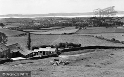Flookburgh, From Appleberry Hill c.1960