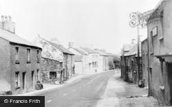 Flookburgh, Main Street c.1955