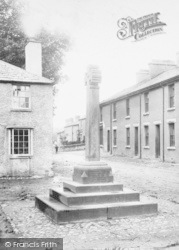 Flookburgh, Market Cross 1897