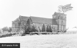 Flookburgh, St John The Baptist's Church c.1960