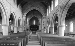 Flookburgh, The Church Interior 1901
