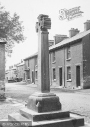 Flookburgh, The Market Cross 1912
