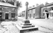 Flookburgh, the Village and Cross 1912