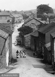Flookburgh, The Village Street 1906