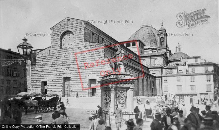 Photo of Florence, Basilica Of San Lorenzo c.1910