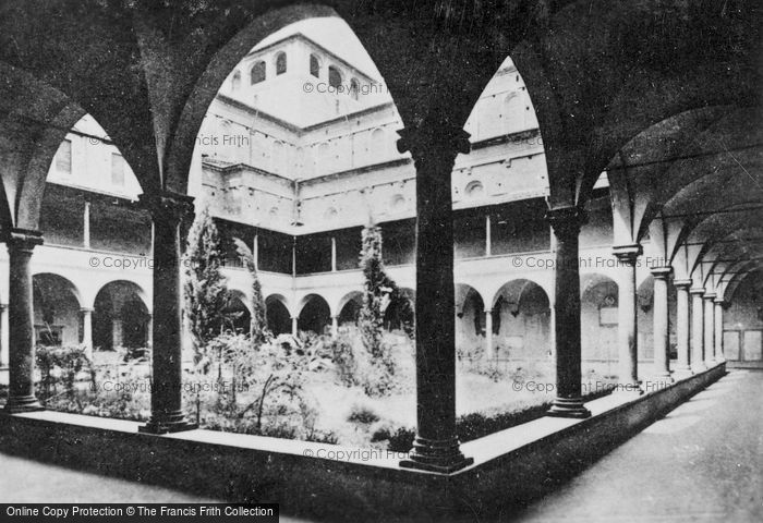 Photo of Florence, Basilica Of San Lorenzo, Cloister Of Laurentian Library c.1910