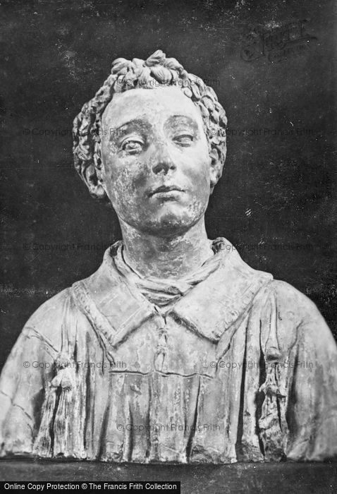 Photo of Florence, Basilica Of San Lorenzo, Sacristy, Bust Of San Lorenzo c.1910
