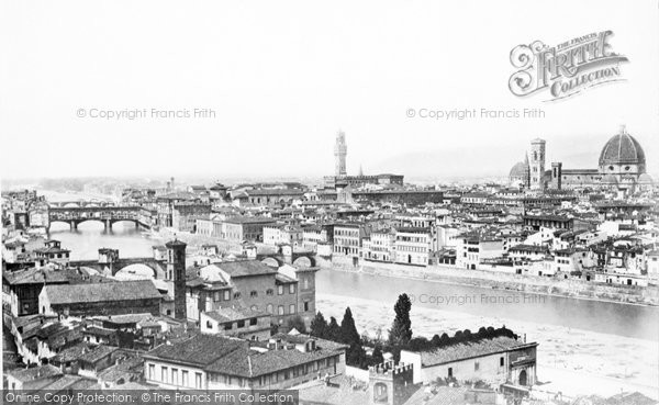 Photo of Florence, c.1870