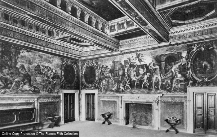 Photo of Florence, Palazzo Vecchio, Apartments Of The Elements c.1910