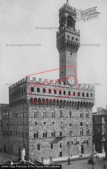 Photo of Florence, Palazzo Vecchio c.1910