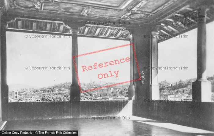 Photo of Florence, Palazzo Vecchio, Terrace Of Saturn c.1910