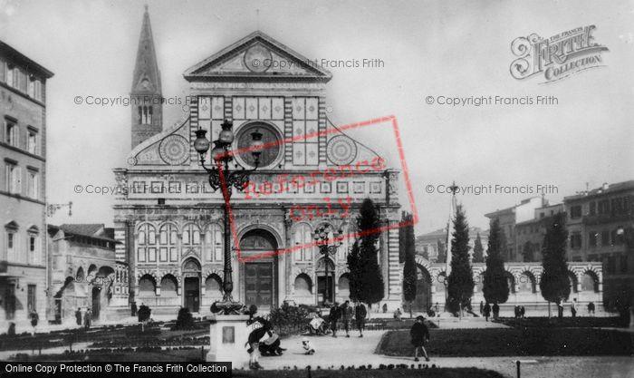 Photo of Florence, Piazza And Basilica Of Santa Maria Novella c.1910