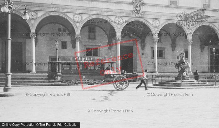 Photo of Florence, Piazza Della Santissima Annunziata c.1910