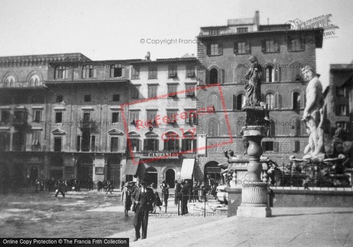 Photo of Florence, Piazza Della Signoria1932