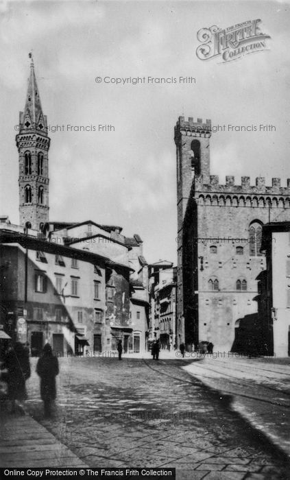 Photo of Florence, Piazza San Firenze c.1910