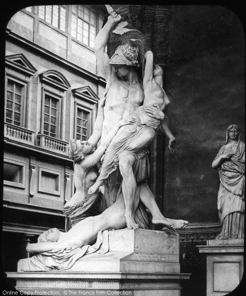 Photo of Florence, Sculpture, Loggia Dei Lanzi c.1865