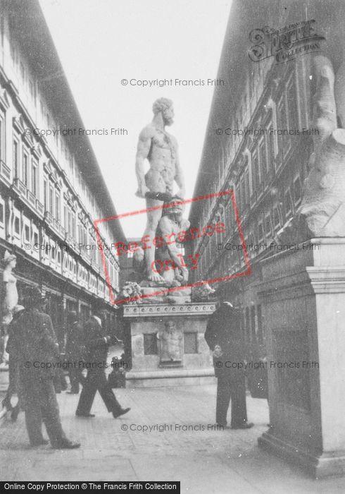 Photo of Florence, Statue Of Hercules And Cacus, Piazza Della Signoria c.1932