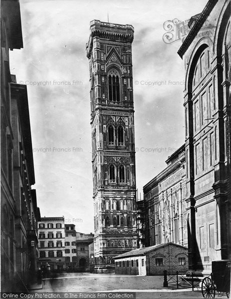 Photo of Florence, The Bell Tower Of Giotto c.1873