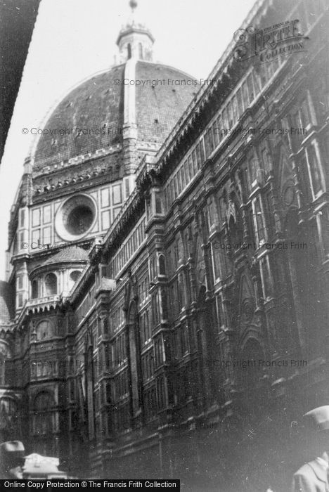 Photo of Florence, The Duomo 1932