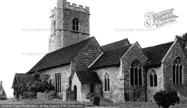Fobbing, the Church c1955, Essex.  (Neg. F78001)  © Copyright The Francis Frith Collection 2005. http://www.francisfrith.com