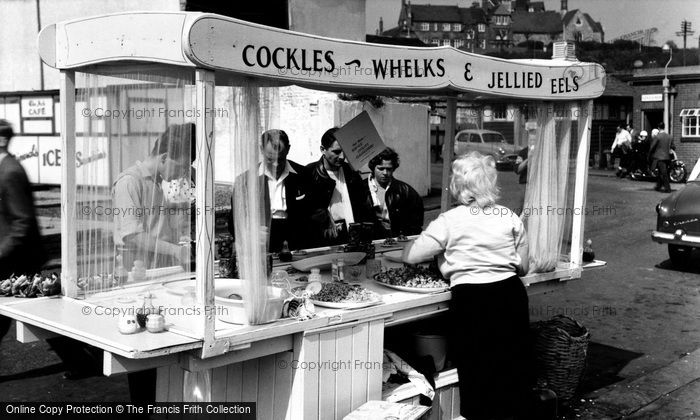 Photo of Folkestone, Cockles And Whelks c.1960