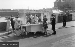 Cockles And Whelks Stall c.1960, Folkestone