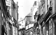 Folkestone, High Street c1955