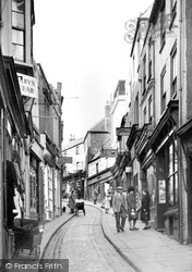 High Street c.1955, Folkestone