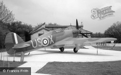 Plane At The Battle Of Britain Memorial, Capel-Le-Ferne 2004, Folkestone