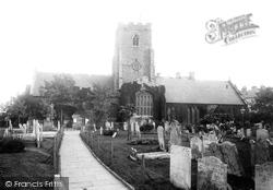 St Mary's And St Eanswythe's Church 1892, Folkestone