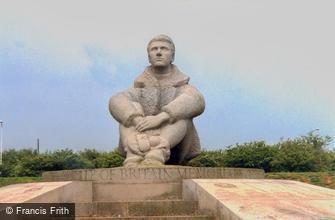 Folkestone, the Battle of Britain Memorial, Capel-le-Ferne 2004