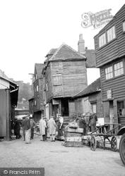 The Fish Market c.1955, Folkestone