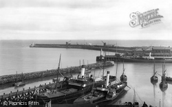 The Harbour 1906, Folkestone