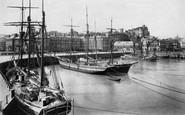 Folkestone, the Harbour 1912